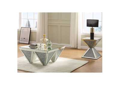 Noralie Mirrored Coffee Table