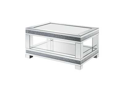 Noralie Mirrored End Table