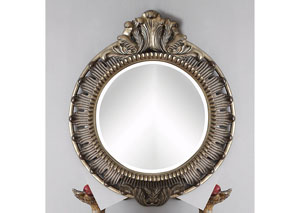Bayley Bronze Accent Mirror