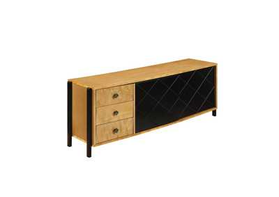 Image for Honna Natural/Black TV Stand