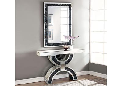 Noor Silver Console Table