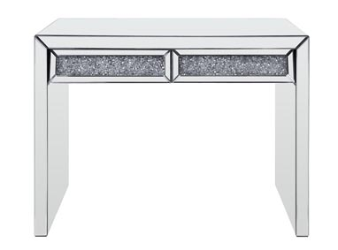 Noralie Mirrored Console Table
