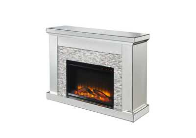 Laksha Mirrored Fireplace