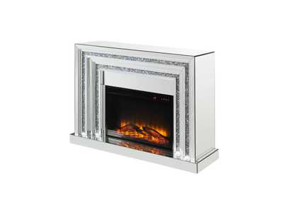 Noralie Mirrored Fireplace