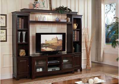 Image for Halden Merlot Entertainment Center