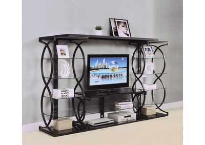 Milo Sandy Black Entertainment Center