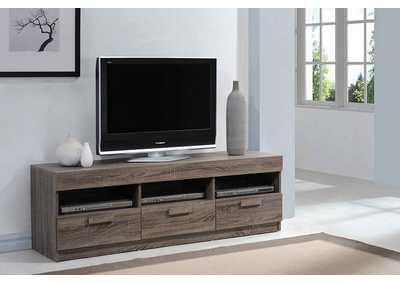 Image for Alvin Rustic Oak TV Stand