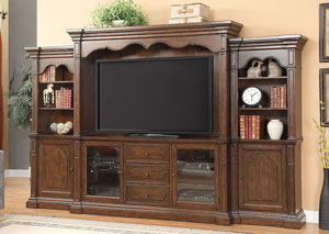 Bycrest Cherry Entertainment Center