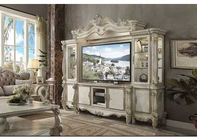 Versailles Bone White Entertainment Center