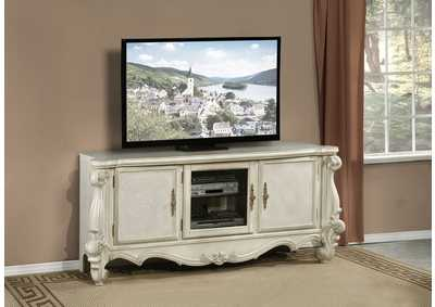 Versailles Bone White TV Stand