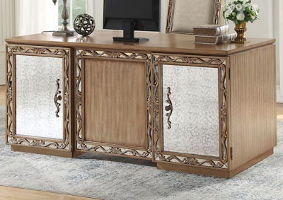 Orianne Antique Gold Desk