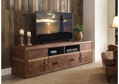 Aberdeen Retro Brown TV Stand
