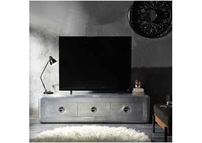 Brancaster Silver TV Stand