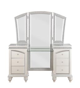 Maverick Vanity Desk and Mirror