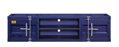 Cargo Blue TV Stand
