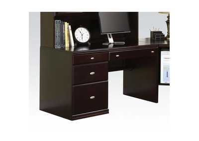 Cape Espresso Side Desk
