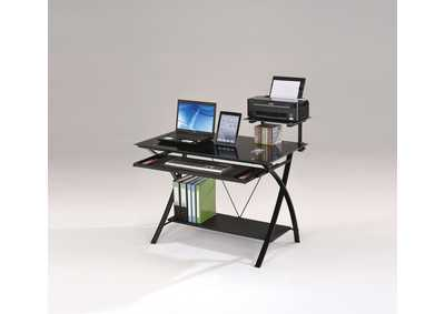 Image for Erma Black Computer Desk