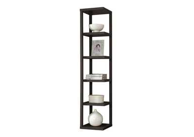 Image for Mileta Cappuccino Bookcase