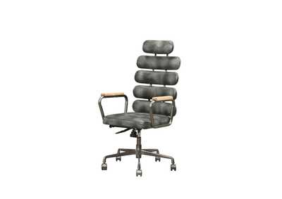 Image for Calan Vintage Black Office Chair