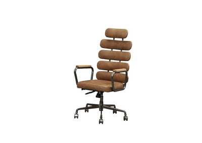 Calan Retro Brown Office Chair