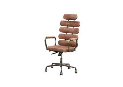 Calan Vintage Whiskey Office Chair
