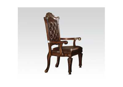 Vendome PU & Cherry Executive Chair (Arm)