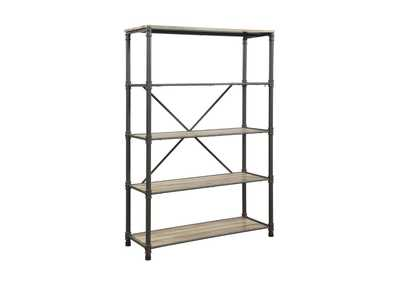 Itzel Tobacco Brown Bookshelf