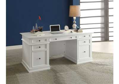 Daiki White Desk