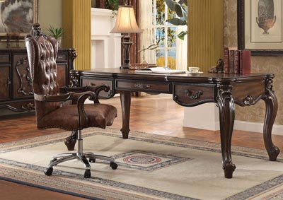 Image for Versailles Cherry Oak Desk