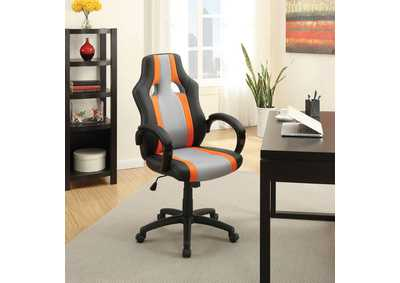 Niklaws Black & Gray Office Chair