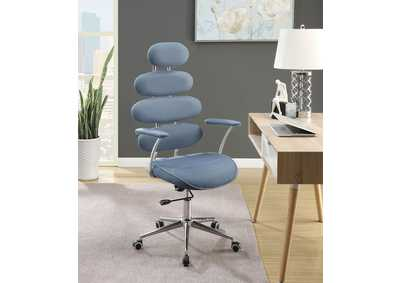 Image for Noma Blue Mesh Office Chair