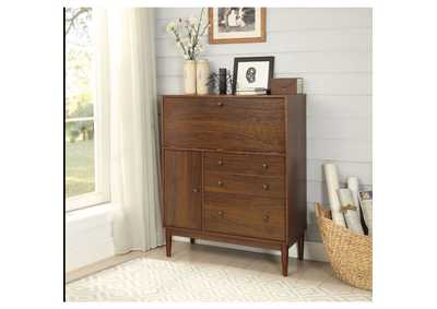 Mullener Brown Office Armoire