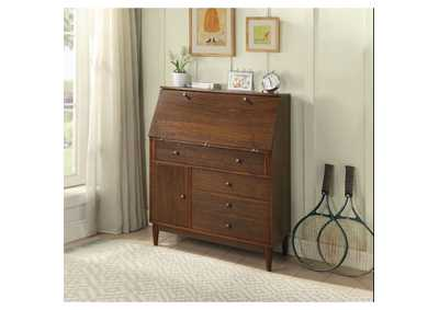 Image for Wyanie Walnut Office Armoire