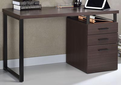 Coy Dark Oak Desk