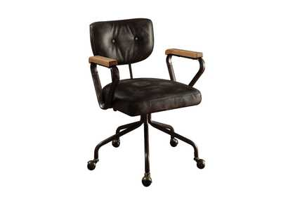 Image for Hallie Vintage Black Office Chair