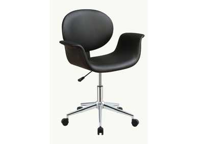 Camila Black Office Chair