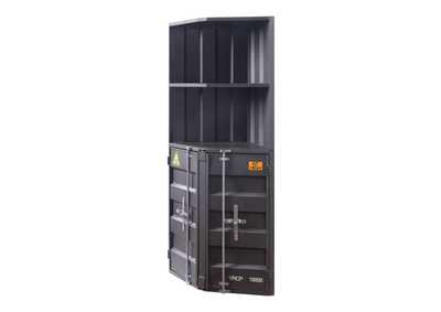 Image for Cargo Gunmetal Bookcase (Corner)