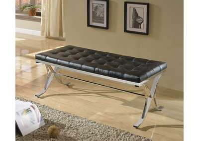 Image for Royce Black/Chrome Bench