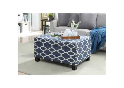 Image for Ganya Navy Bench w/Storage