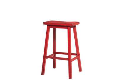 Gaucho Antique Red Bar Stool (Set of 2)