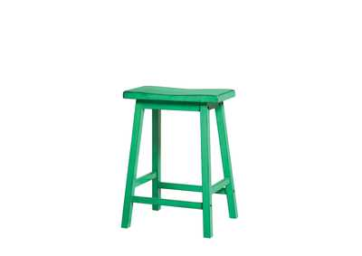 Gaucho Antique Green Counter Height Stool (Set of 2)