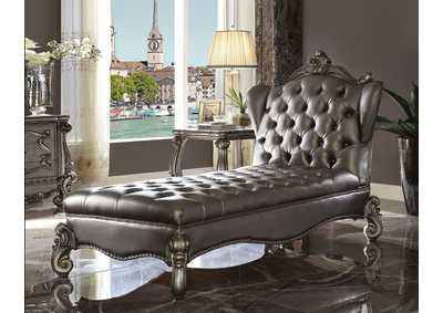 Image for Versailles Antique Platinum Chaise