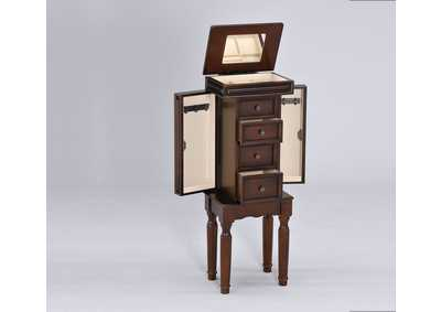 Image for Depot Walnut Jewelry Armoire