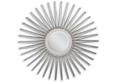 Ern Silver Accent Mirror