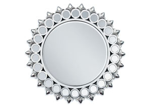 Flo Silver Accent Mirror