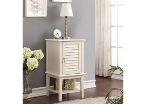 Hilda White Side Table