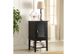 Hilda Black Side Table