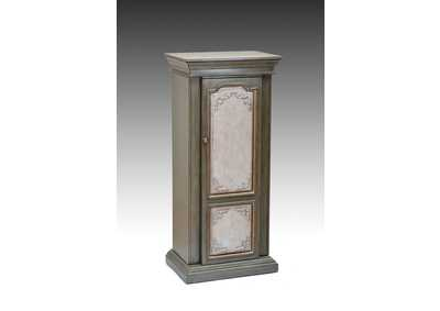 Image for Riker Antique Gray/Beige Jewelry Armoire