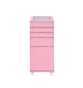 Image for Nariah Pink Jewelry Armoire