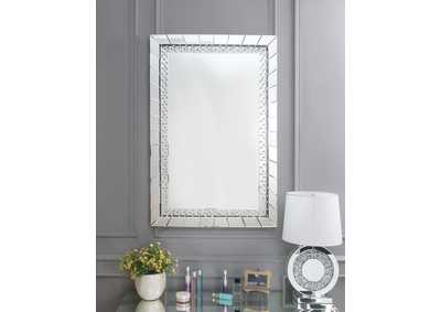 Image for Nysa Mirror Tile Frame Accent Mirror